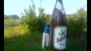 Diese Flasche Bier Vollrausch