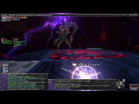 FFXI Escha Ru'Aun - Naphula Amymone and Kammavaca Trio  With Trusts