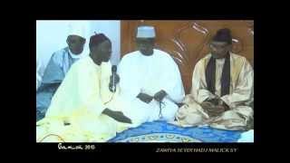 GAMOU TIVAOUANE 2015 - Ouverture Abdou Aziz Mbaye et Causerie Serigne Mbaye Sy Mansour