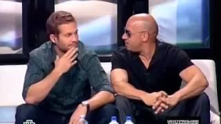 Центральное Телевидение Вин Дизель и Пол /НТВ - Форсаж 5