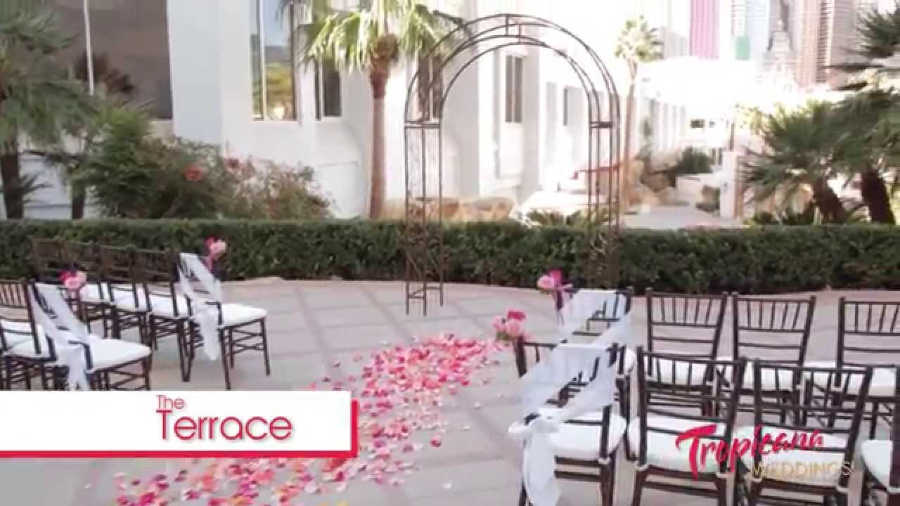 Tour Of Our Wedding Locations At Tropicana Weddings Las Vegas