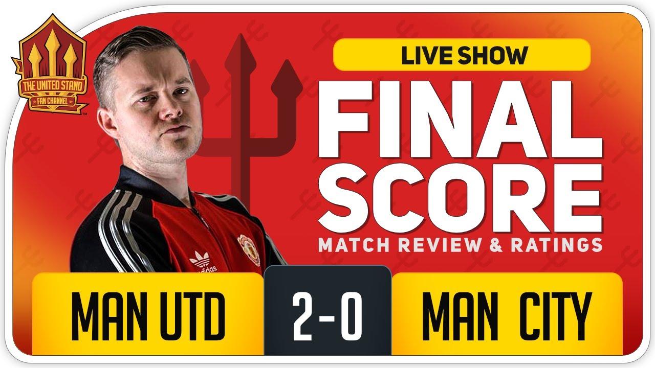 GOLDBRIDGE! Manchester United 2-0 Manchester City Match Reaction