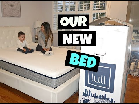 SINGLE MOM VLOG | UNBOXING Our New Bedroom Mattress