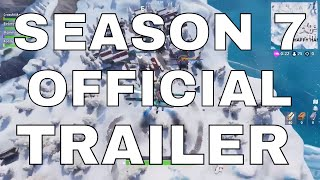 Fortnite SEASON 7 OFFICIAL TRAILER! Announce Trailer Season 7! (Weapon Wraps, Planes, Custom Skins)