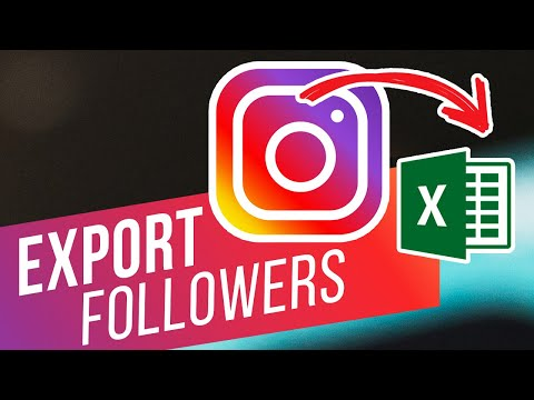 How to Export Instagram Followers to Excel