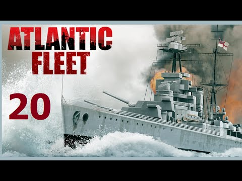 Atlantic Fleet | Let's Play Germany - 20 Bismarck vs. Hood