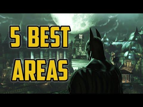 5 Most Interesting Locations In The Batman Arkham Series