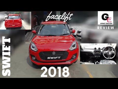 Maruti Suzuki Swift zxi+ 2018   most detailed review   interiors & exteriors !!!