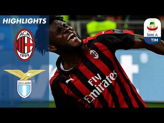 Milan 1-0 Lazio | Kessié's late penalty enough for Milan to see off Lazio | Serie A