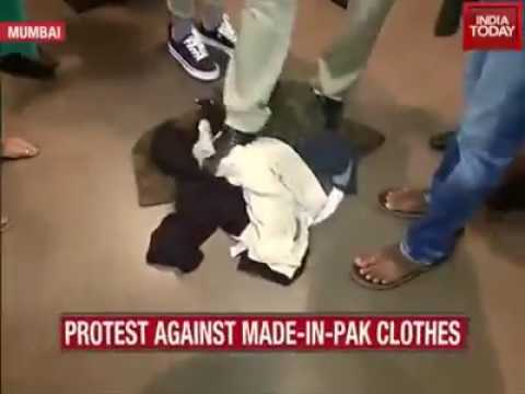 Indian haters attacked on Zara store in Mumbai just because Zara is Pakistani Brand