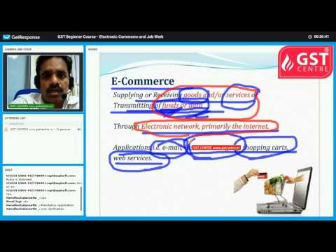 Webinar - Electronic Commerce
