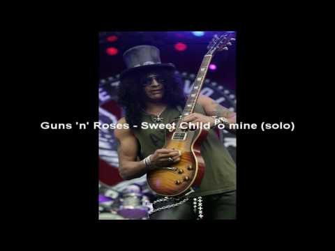 Slash's Best Guitar Solos [HD]* (FREE Download)