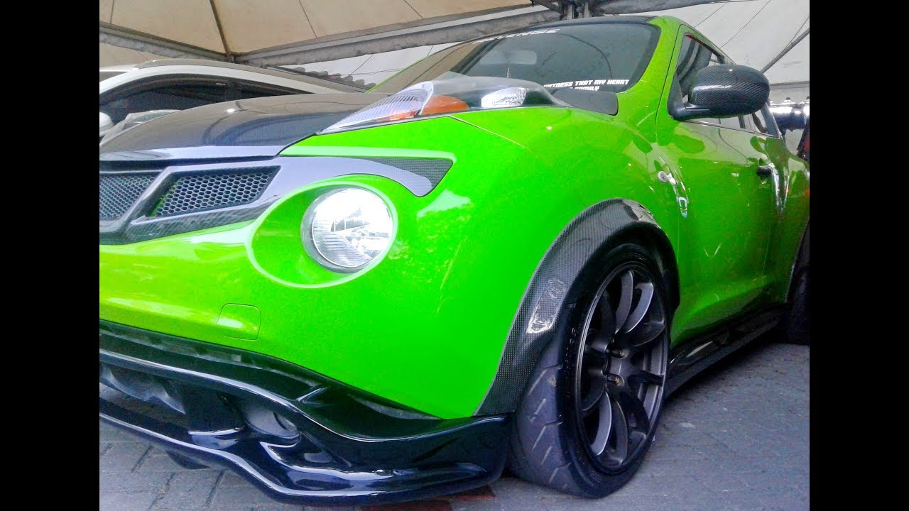 sporty modified nissan juke custom wide body kit youtube