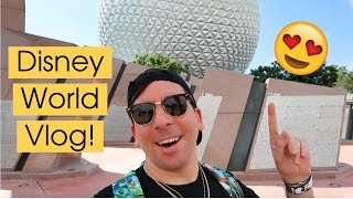 EPCOT, Magic Kingdom, Trader Sam's & Be Our Guest! | Disney World Vlog October 2018