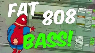 How to make fat & powerful 808 BASS | Ableton
