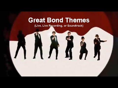 50 Years of James BOND  Compilation of the Great Theme Songs with Movie Clips 1 Hour