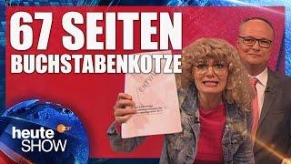 Mandy Hausten von der Linkspartei zerrupft den Programmentwurf der SPD