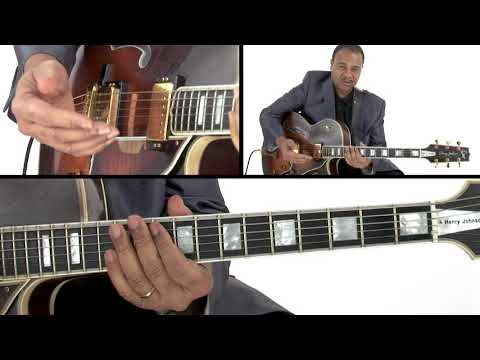 Jazz Guitar Lesson - Inversions & Areas of Activity - Henry Johnson