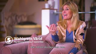 Wahlgrens värld ny säsong 7 september på Kanal 5!
