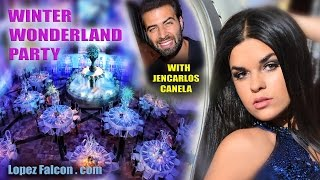 Winter Wonderland with JenCarlos Canela Quinceanera at Westin Colonnade Quince Sweet 15 Party