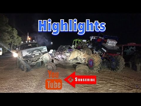 Highlights! Creekside Offroad Ranch - Mardi Gras 2018 (Part 4)
