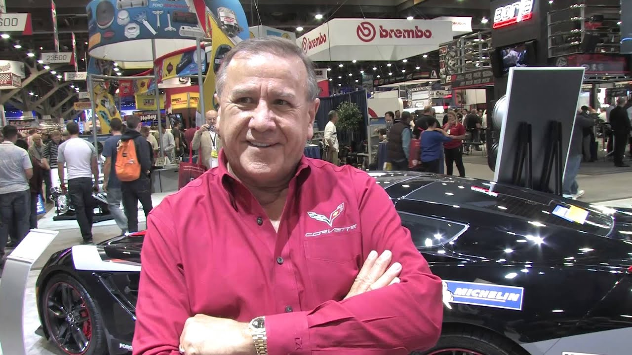 Mid America Motorworks' Mike Yager at SEMA 2015