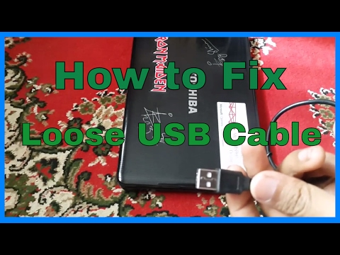 How to Fix a Loose USB Cable and Port Connection | 2 Ways to Fix Loose USB Problem