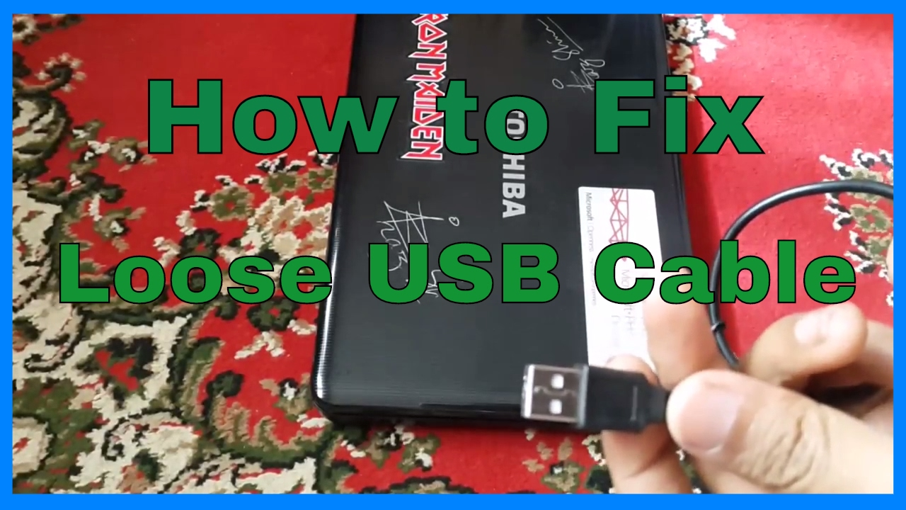 How To Fix A Loose Usb Cable And Port Connection 2 Ways
