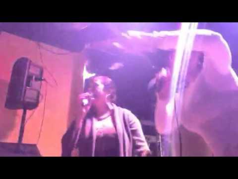 Go Go Backyard version of Adele Hello Karaoke W/ Sandy