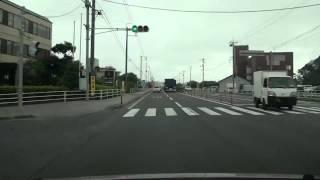 鳥取県道47号 米子境港線  境港市→米子市