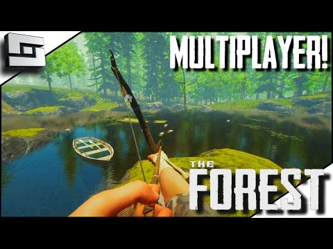 The Forest Multiplayer - KERALIS' LAKE! E9 ( Gameplay )
