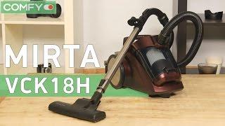 Mirta VCK18H - циклонный пылесос с хорошей производительностью - Видео демонстрация