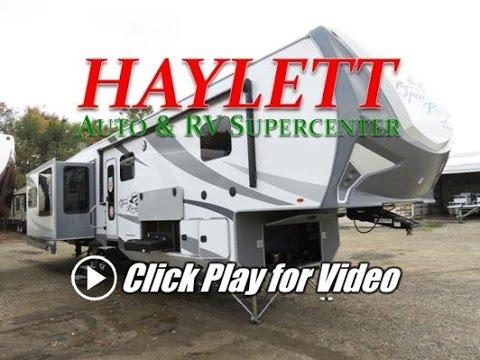Haylettrv 2018 open range roamer 371mbh middle bunk for Fifth wheel with bonus room