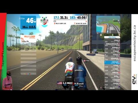 Race 374 - Eastern Canadian Quest - Watopia Flat x 3 laps