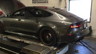 Audi RS7 APR tuned Dyno run