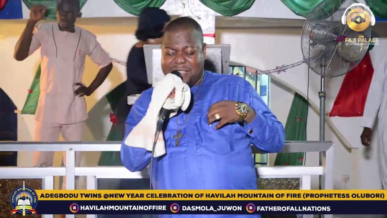 Download ADEGBODU TWINS @ NEW YEAR CELEBRATION OF HAVILAH MOUNTAIN OF FIRE WITH PROPHETESS MARY OLUBORI