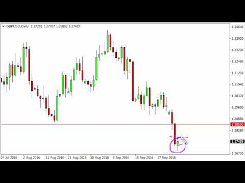 GBP/USD Technical Analysis for October 6 2016 by FXEmpire.com