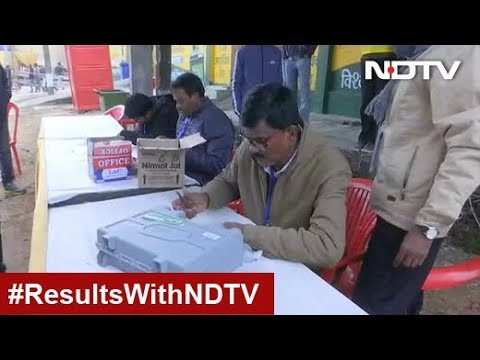 JMM-Congress Crosses Majority Mark In Jharkhand Election Leads
