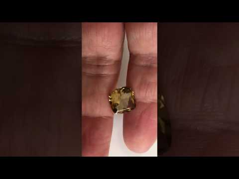 TOP ANTIQUE GOLD CITRINE