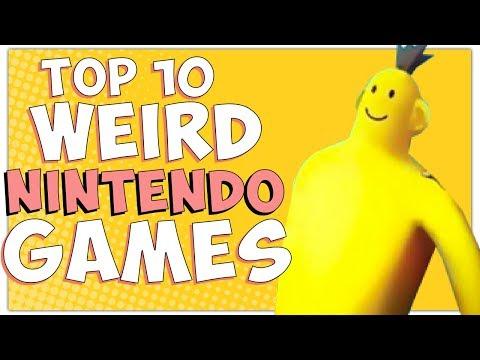 Top 10 Weird & Unbelievable Nintendo Games- Billiam