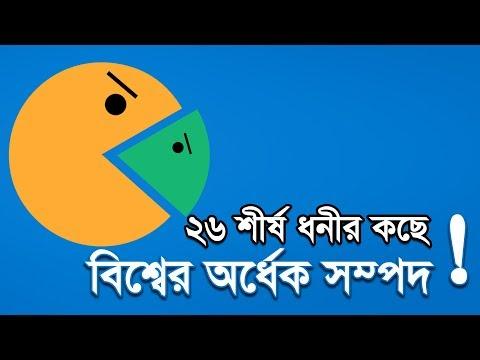 ২৬ শীর্ষ ধনীর কাছে বিশ্বের অর্ধেক সম্পদ | Bangla Business News | Business Report | 2019