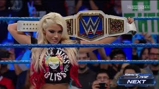 Sexy Wicked Witch Alexa  Bliss Entrance