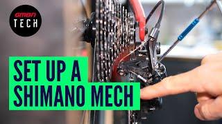 How To Set Uṗ & Adjust Any Shimano Rear Mech   MTB Derailleur Adjustment