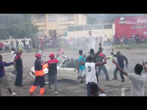Zimbabwe car show (Burnouts Spinners Bikes)