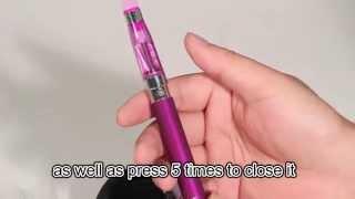 2x 1100mah CE4 eGo-T Starter Kit Personal Electronic Vaporizer Vape E Pen e-cigarette Purple