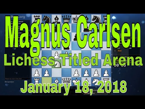 Magnus Carlsen (DrDrunkenstein) Incredible Bullet Chess by the World Champion 🔥Lichess Titled Arena