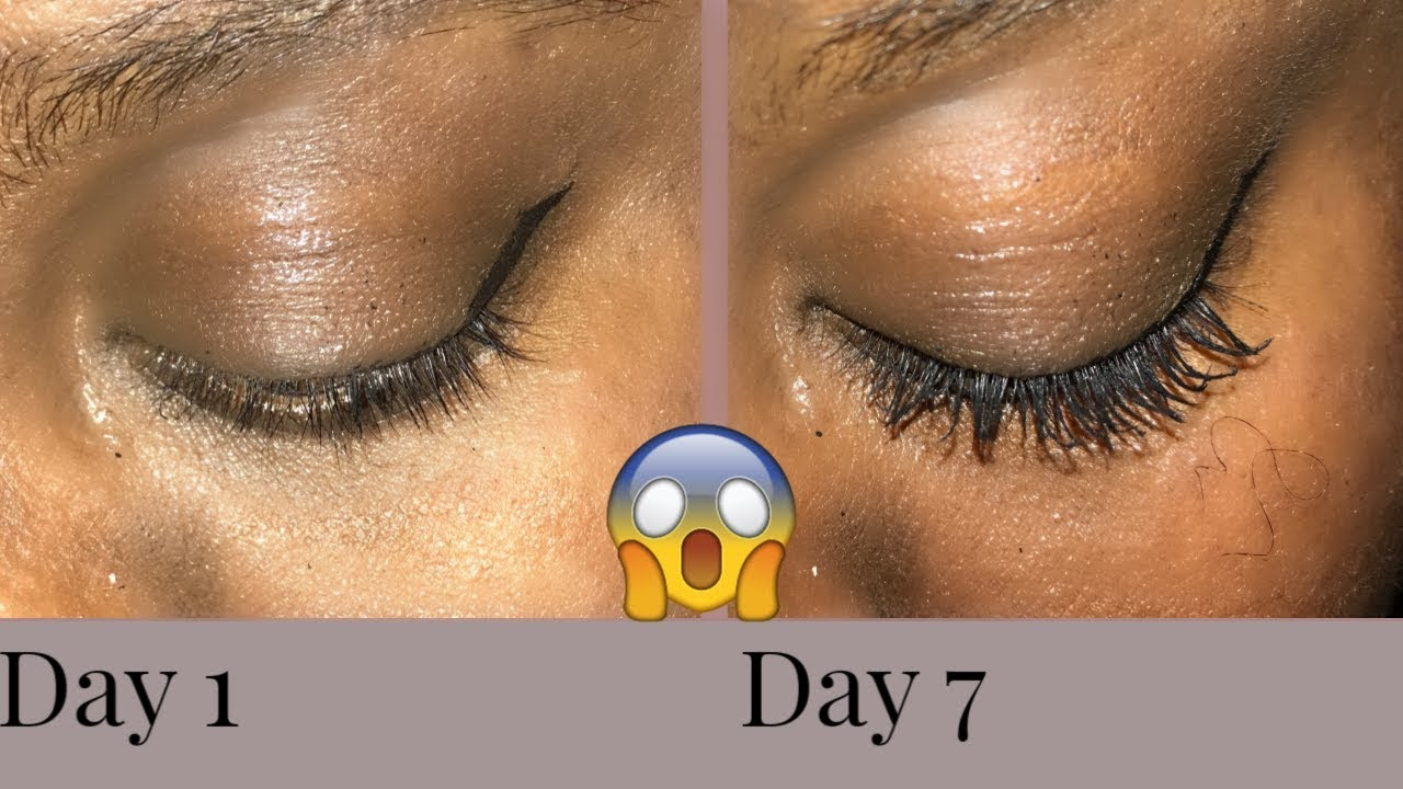 749a139f9a3 7 DAY OF CASTOR OIL GREW MY EYELASHES -CRAZY RESULTS- - YouTube