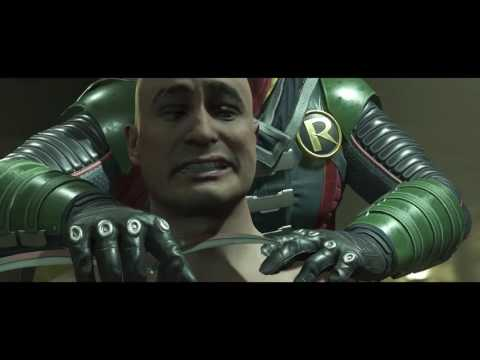 Injustice 2 - Robin (Damian Wayne) Kills Victor Zsasz