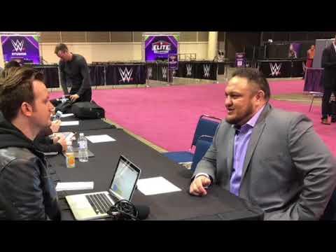 Samoa Joe interview before WrestleMania 34