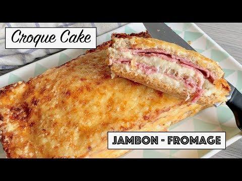 recette---croque-cake---jambon-fromage-béchamel